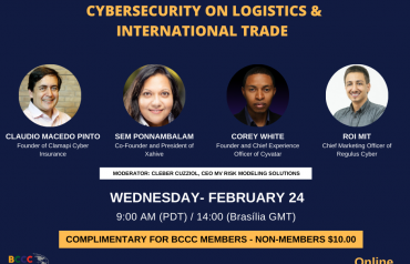 Web Conference: CYBERSECURITY ON LOGISTICS & INTERNATIONAL TRADE